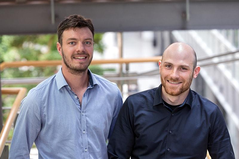 Sieger im Cluster Informationstechnologie 2018: Gründerteam um Telescrop