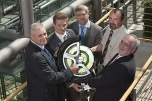 Sieger im Cluster Automotive 2014: Otto-von-Guericke-Universität Magdeburg