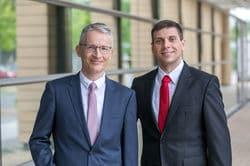 Preisträger des IQ Innovationspreis Halle (Saale) 2018: Prof. Dr. Karsten Mäder, Dr. Johannes Stelzner und Prof. Dr. Sven-Erik Behrens